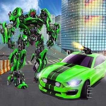 Grand Robot Car Transform 3D